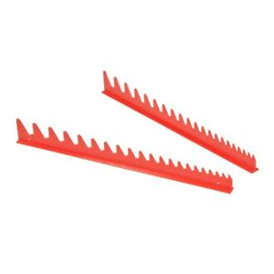 Ernst 6012 20 Tool Wrench Rail Organizers Red
