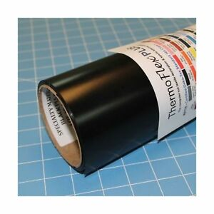 Thermoflex Plus 15 X 10 Roll Black Heat Transfer Vinyl