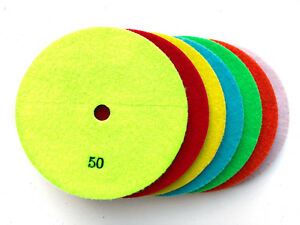 Granite Polishing Pads 7 Inch Diameter