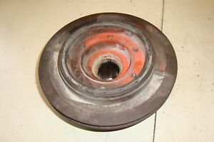 Case 1370 Tractor Front Crankshaft Pulley