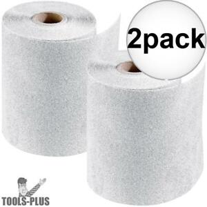 Porter cable 740001201 4 5 X 30 Ft 120 Grit Stikit Sandpaper Roll 2x New