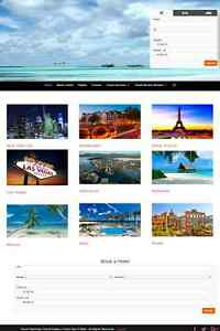Travel And Vacation Planning Website Business For Sale Mobile Friendly Design