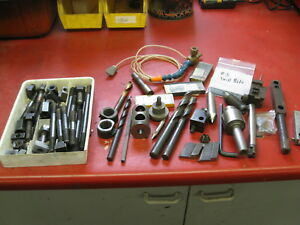 Used Machinist Tools Grab Bag Lot Carbide Indexable Tooling Centers Drills Tool