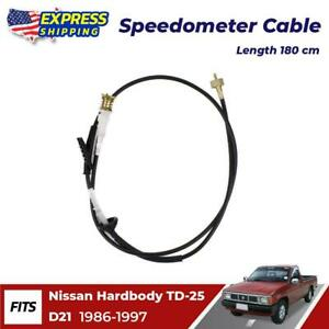 Speedometer Cable Wire Fit For 1986 97 Nissan Hardbody D21 Td25 Bdi Ute Pickup