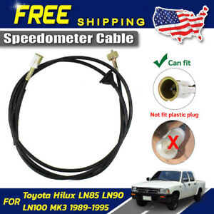 Speedometer Cable Wire Line Fit For 1989 95 Toyota Hilux Ln80 Ln85 Ln100 Pickup