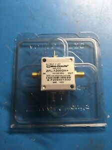 Zfl 1200gh General Purpose Variable Gain Amplifier 10 Mhz To 1 2 Ghz