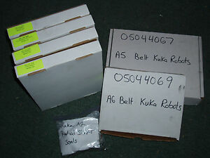 Kuka Robot Belts And Radial Shaft Parts 16x Total Belts