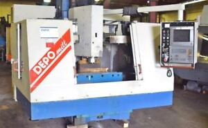 Depo mcfv 100 Cnc Vertical Machining Center