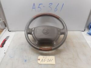 2003 Cadillac Seville Sts Steering Wheel W Srs