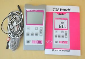 Organon Tof watch Objective Neuromuscular Transmission Monitor Tof Watch Clean
