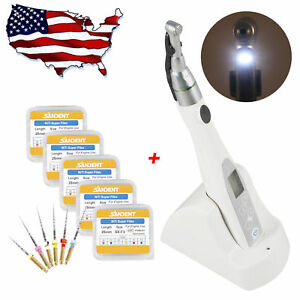 Dental Cordless 2 Led Holder Endo Motor 16 1 Handpiece With 30pcs Niti Files