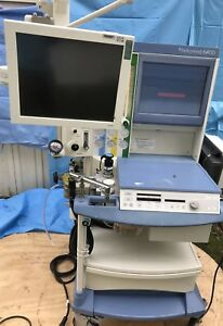Drager Narkomed 6400 Anesthesia Machine With Ge Solar 9500 Patient Monitoring