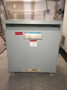 General Electric Transformer 75 Kva 480 277v 208 120v Model 9t23b3874