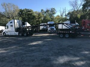 2016 Kaufman Double Deck Mini 5 Car Hauler Trailer