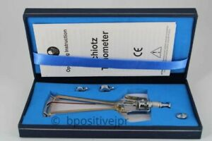 Brand New Riester Schiotz Tonometer For Ophthalmology Optometry