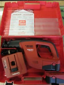 Hilti Wsr 650 a 24v Sawzall Cordless Reciprocating Saw