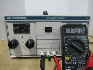 Bk Precision 1746 Dc Power Supply 0 16v 0 10a Power Tested Working