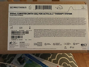 Nib Kci 300 Ml Canister with Gel For Activ a ctherapy System M8275058 5 5piece