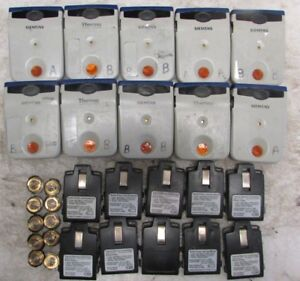 Lot Of 10 Siemens Thermo Epd Mk2 3 Electronic Personal Dosimeter Blue