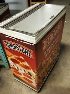 Portable Freezer Chest Display Retail Grab Go 110v Commercial arctic Star
