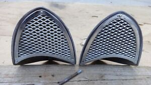 1955 1956 Chrysler Desoto Air Conditioning Vents Scoops Original Pair A c Hemi