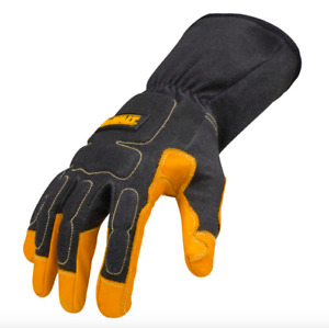 Dewalt Leather Medium Mig Tig Welder Welding Gloves 1 Pair Fire Heat Resistant