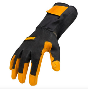 Dewalt Medium Tig Welder Welding Gloves 1 Pair Fire Heat Resistant Leather New