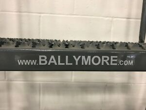 7 Step Rolling Ladder For Warehouse Ballymore 6 Foot High Platform