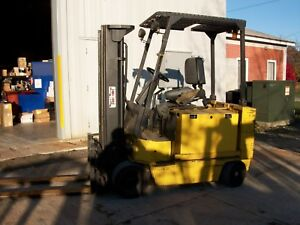 Yale 6000 Electric Forklift