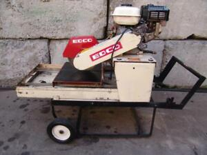 Edco Gms10 4h 10 Hardscape Saw Brick Block Paver Saw W Honda Gas Engine