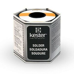 Kester 24 6040 0039 Rosin Cored Wire Solder Roll 44 Activated 0 040 Diameter