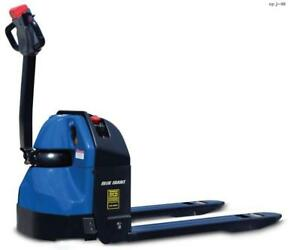 Blue Giant 27 X 45 Electric Powered Pallet Truck