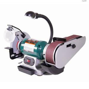 Toolots Combo 6 Bench Grinder 2 28 Sander W Light csa Listed bestmro_tl