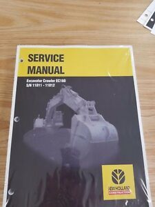 New Holland Ec160 Crawler Excavator Factory Service Repair Manual