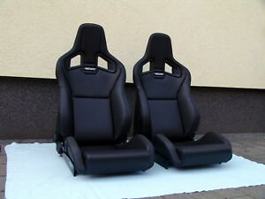Recaro Sportster Cs Seats Artificial Leather Pair Brand New