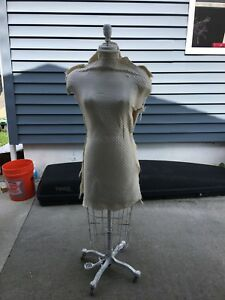 Female Wolf Mannequin Dress Form Metal Made In Nyc