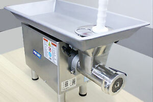 Pro cut Kg 22w xpss 2hp 220volt 1phase Stainless Steel Commercial Meat Grinder