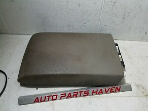 06 10 Mountaineer Explorer Tan Center Console Lid Arm Rest Top Topper Pad Oem