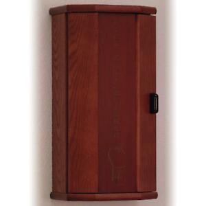 Wooden Mallet Fire Extinguisher Cabinet 10 pound Mahogany engraved