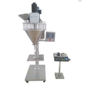 Youlian 5 5000g Auger Filler Machine With Platform Scale For Powder Filling