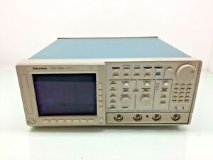 Tektronix Tds540a 4 ch Digitizing Oscilloscope 500mhz 1gs s Opt 2f Adv Dsp Math