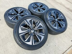17 Honda Accord Oem Wheels Rims Tires 2011 2012 2013 Civic Hr V Cr V 64015b