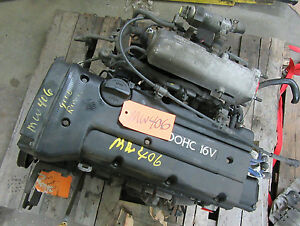 Elantra Tiburon Motor Engine Car Vin F Cylinder Head Cam Crank Shaft Oil Pan 2 0