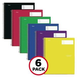 Five Star Interactive Notetaking 1 Subject College Ruled Notebooks 100