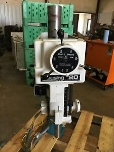 Clausing Variable Speed Drill Press Head Model 2284 20