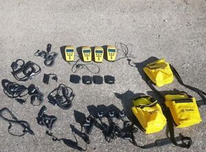Lot Of 4 Trimble Geoexplorer Ll And Lots Of Accessories