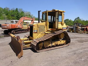 Caterpillar D4h Lgp Series Ii Crawler Dozer Perfect 3204 Diesel Six Way Blade