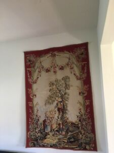 Hand Woven French Tapestry