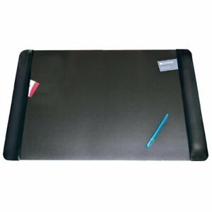 Aop413861 Executive Desk Pad With Leather like Side Panels