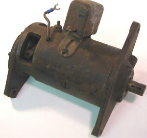 Generator Cast Iron Used Vintage Tractor Or Car